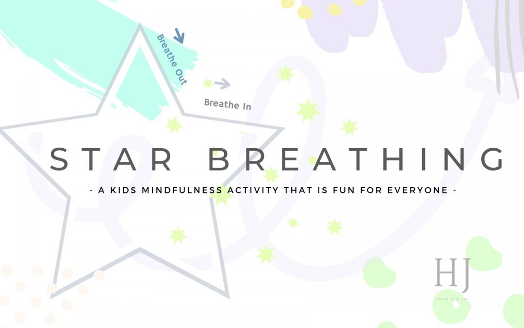 Kids Mindfulness Activity – Star Breathing