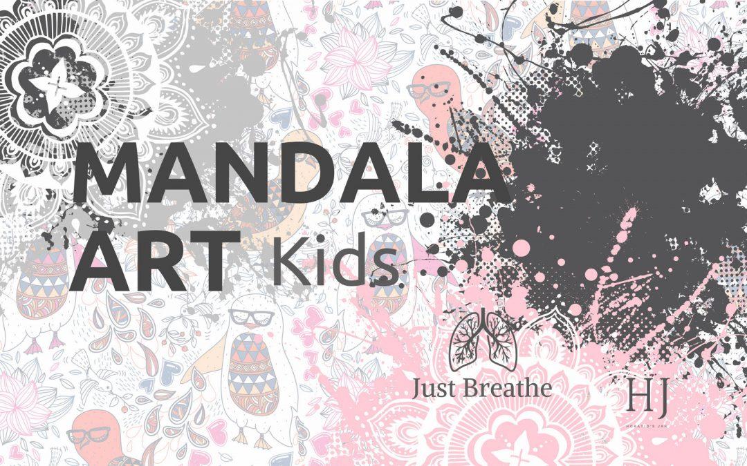 Kids Mandala – A Wellbeing Activity